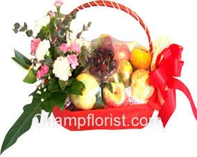 กระเช้าผลไม้ friut019