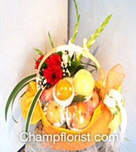 กระเช้าผลไม้ friut 011